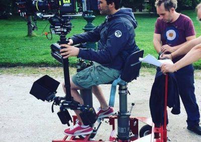 """Nicolas Cagniard en tournage sur """"Baron Noir"""" S2"""