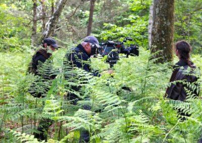 """Patrick De Ranter en tournage sur """"Un village français"""" S7"""