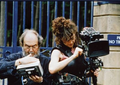 Kubrick et Liz Ziegler