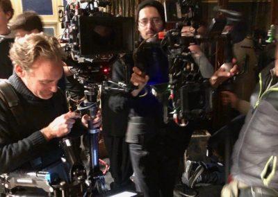 Eric Bialas et le chef-op, David Ungaro