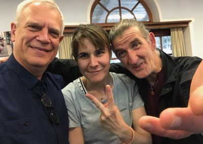 Fanny, Patrick et Valentin Monge